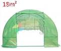 Invernadero Armable Tunel 18 metros cuadrados Profesional