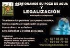 LEGALIZACION DE POZOS Y SONDEOS