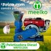 Máquina de hacer pellets de concentrados balanceados 120 mm