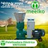 Peletizadora Meelko 120 mm electrica 4kw para concentrados b